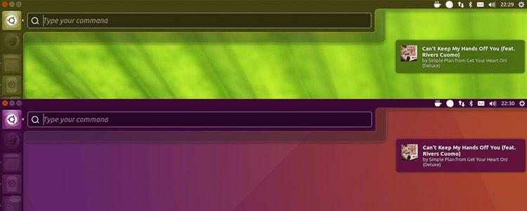 ubuntu unity color matching