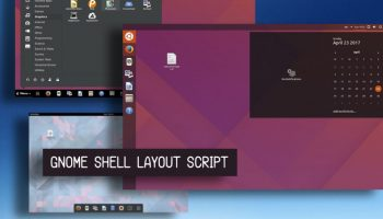 GNOME Shell Layout Manager Script