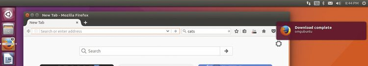 unity desktop integration in firefox