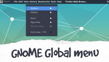 gnome global menu extension
