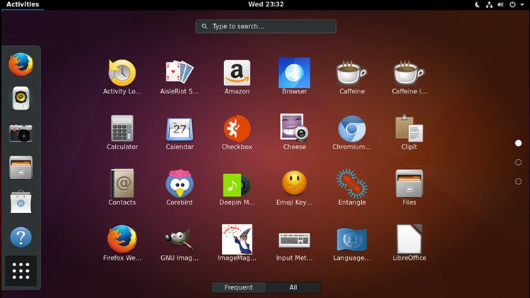 gnome shell desktop