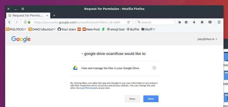 how to download from google drive command line linux