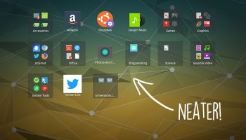 gnome shell applications overview sorted