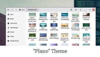 plano theme thumbnail