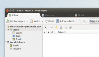 thunderbird on ubuntu