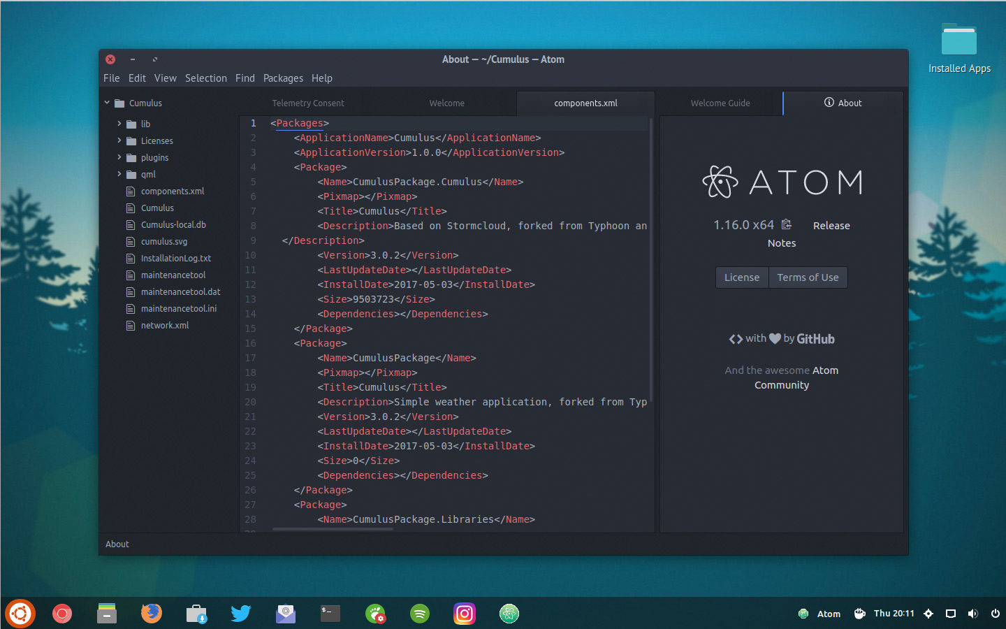 It's Now Super Easy to Install Atom Text Editor on Ubuntu - OMG! Ubuntu!