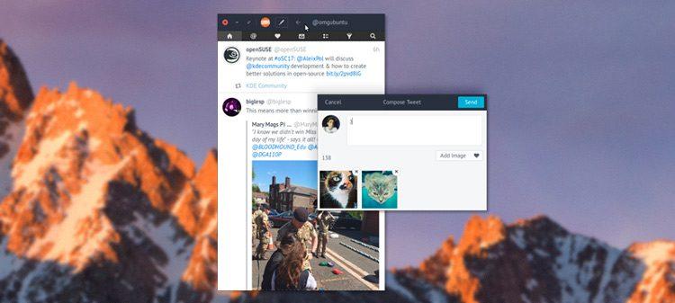 corebird 1.5 on ubuntu