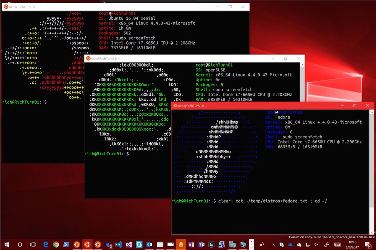 Windows 10 s won 39 t let users install linux distros omg for 1 window