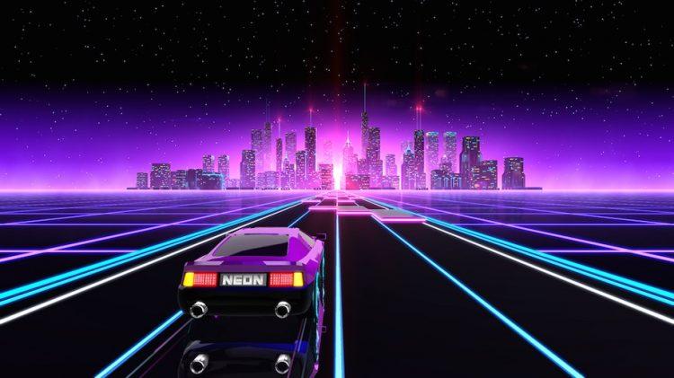 neon drive gameplay