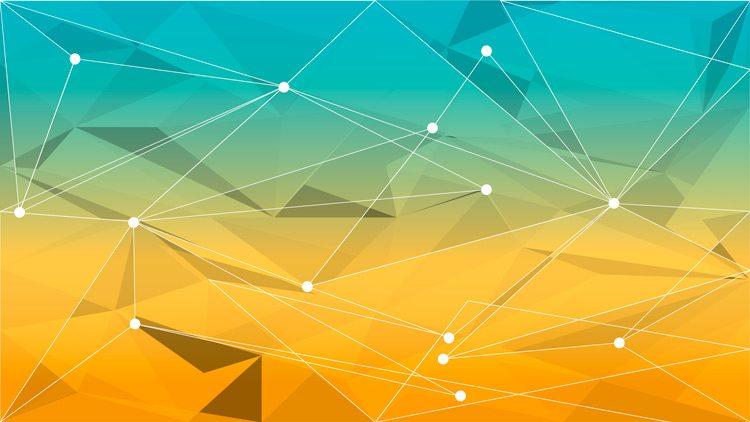 system76 geometric wallpaper