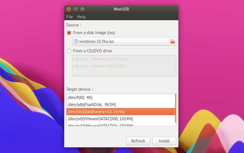 How to write amharic in ubuntu make windows