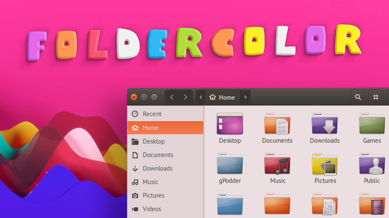 Change folder color