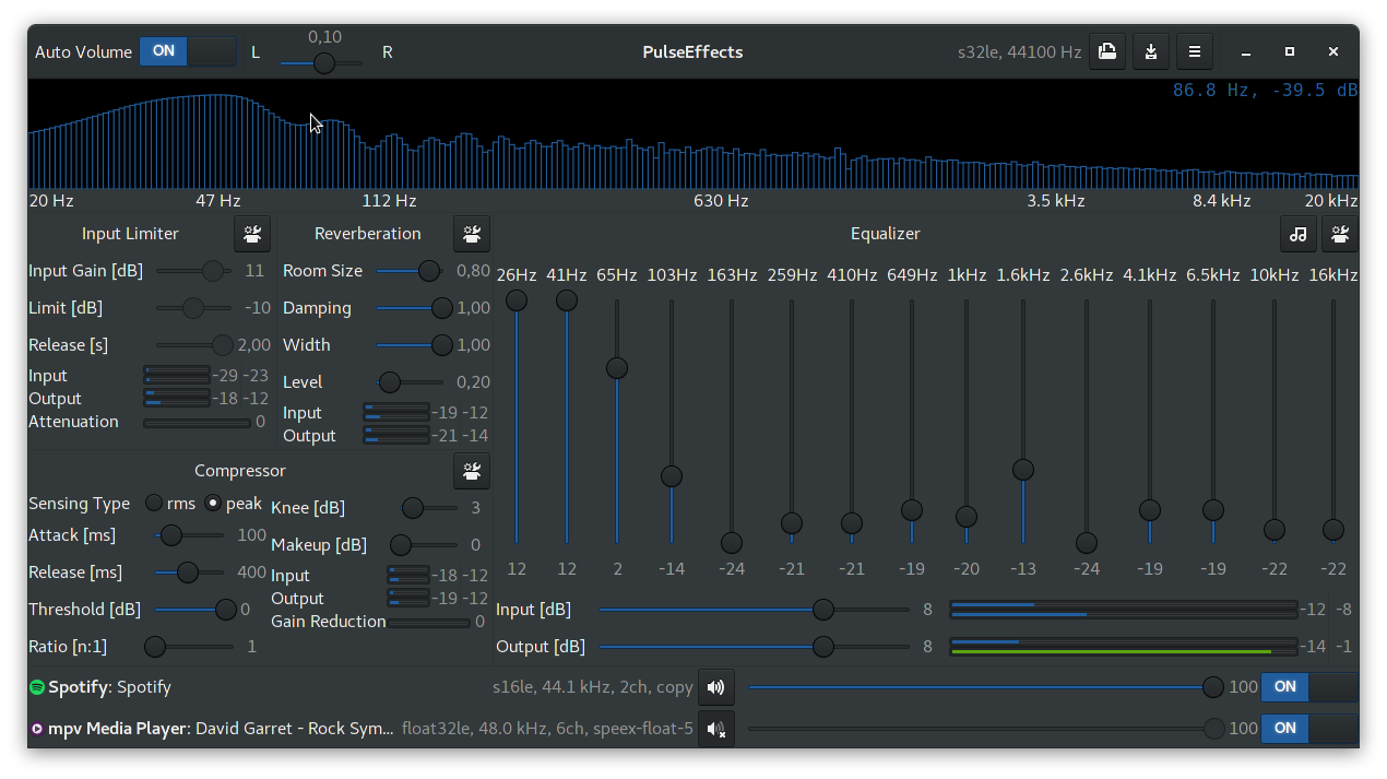 PulseEffects is a Powerful GTK Audio Effects & Equalizer