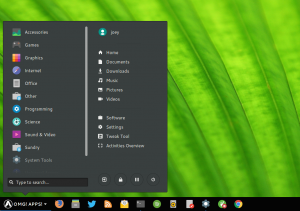 Arc Menu extension for GNOME Shell