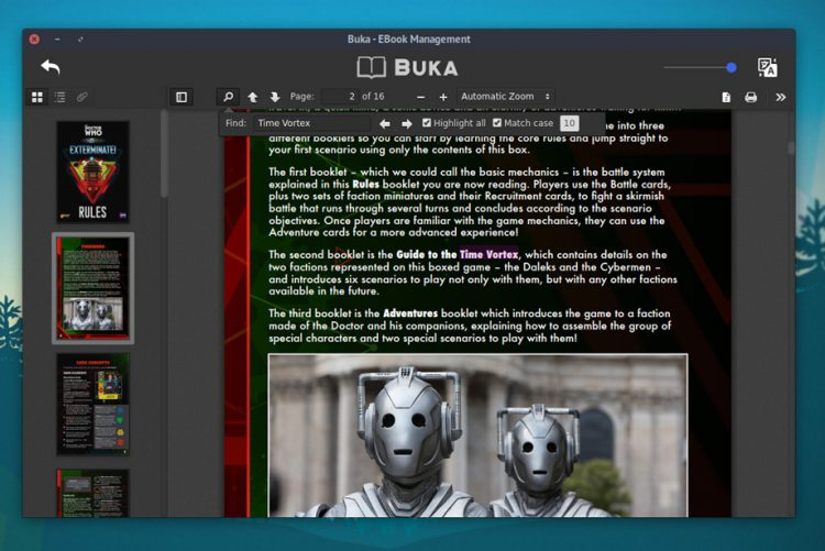 Buka pdf viewer on ubuntu