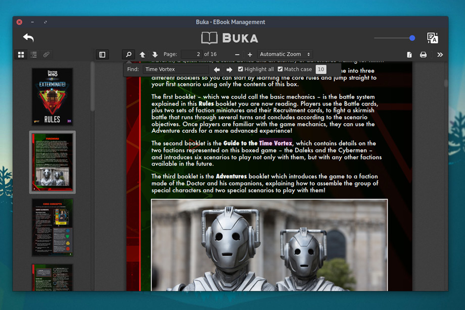 The best ebook reader apps for ubuntu linux desktops omg ubuntu buka ebook reader manager fandeluxe Image collections