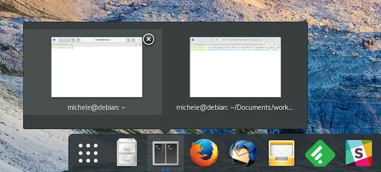 Dash to Dock Adds Monitor Isolation, Improves Window Previews - OMG