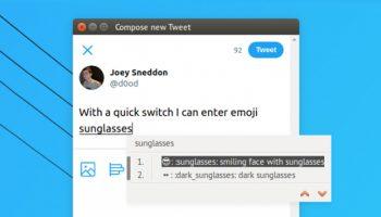 emoji ibus tool