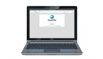 qupzilla web browser graphic