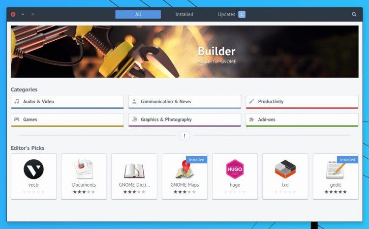 Las aplicaciones Snap ahora aparecen como 'Selecciones del editor' en el software de Ubuntu
