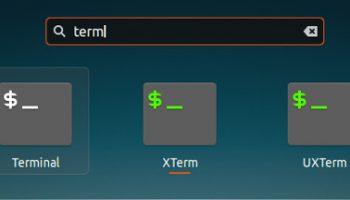 ubuntu terminal xterm and uxterm
