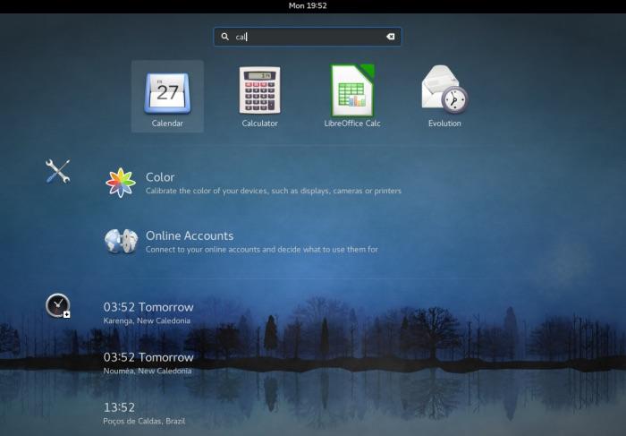 Cómo está mejorando la búsqueda en GNOME-Shell