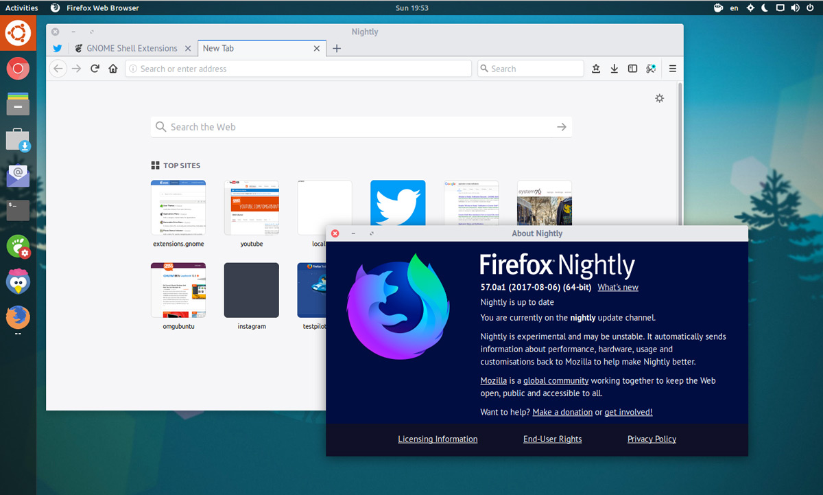 firefox nightly 64 bit