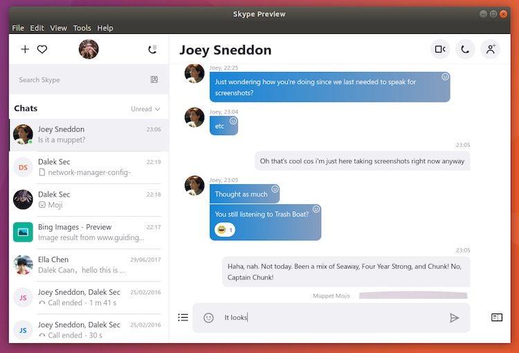 It just got easier to install skype on ubuntu omg ubuntu skype for linux running on ubuntu 1710 stopboris Images