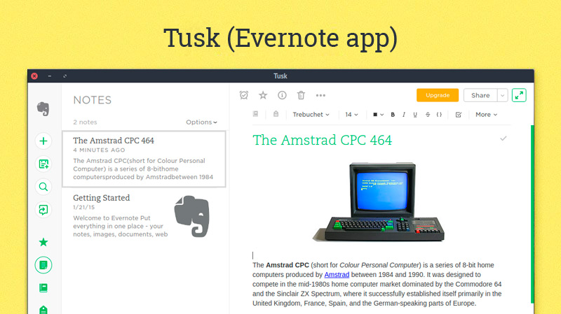 Tusk Adds Much Needed Features to Evernote Web App - OMG
