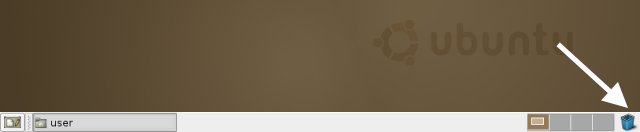 ubuntu 6.06 desktop panel