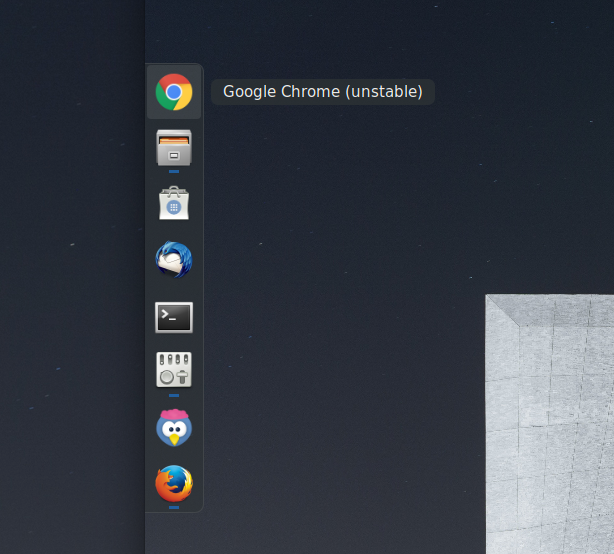 dash to dock on Ubuntu