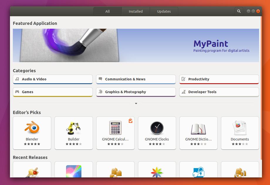Aplicaciones Snaps obtienen gran impulso promocional en el software de Ubuntu