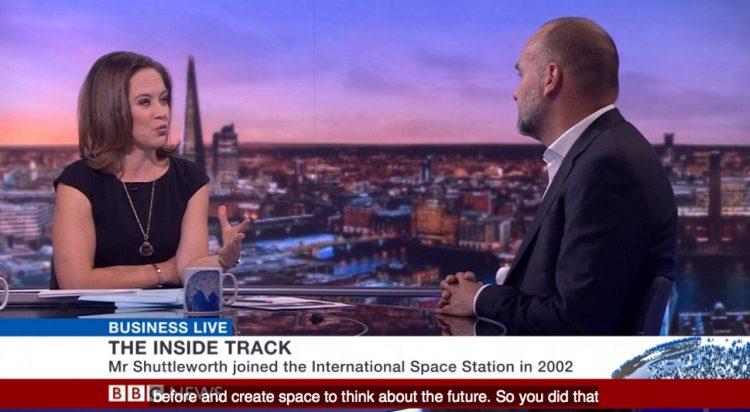 bbc interview mark shuttleworth