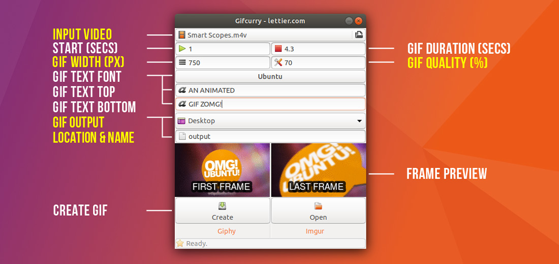 Make a GIF from Video on Linux Using Gifcurry - OMG! Ubuntu!
