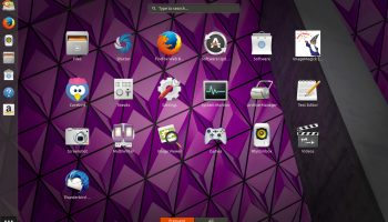 Ubuntu 17.10 GNOME Shell Applications Overview