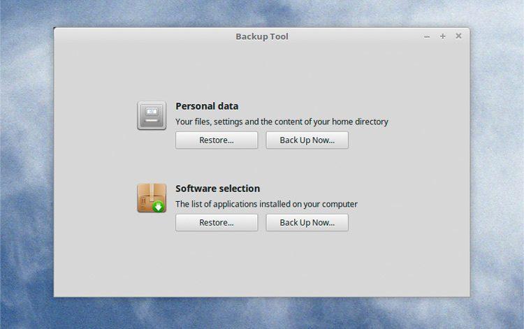 Linux Mint trae grandes mejoras a su herramienta de copia de seguridad