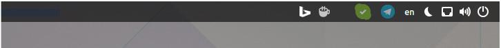 Iconos de bandeja de Telegram de reemplazo para GNOME Shell