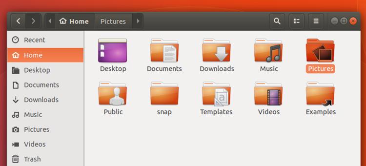 Ubuntu ambiance gtk theme in nautilus