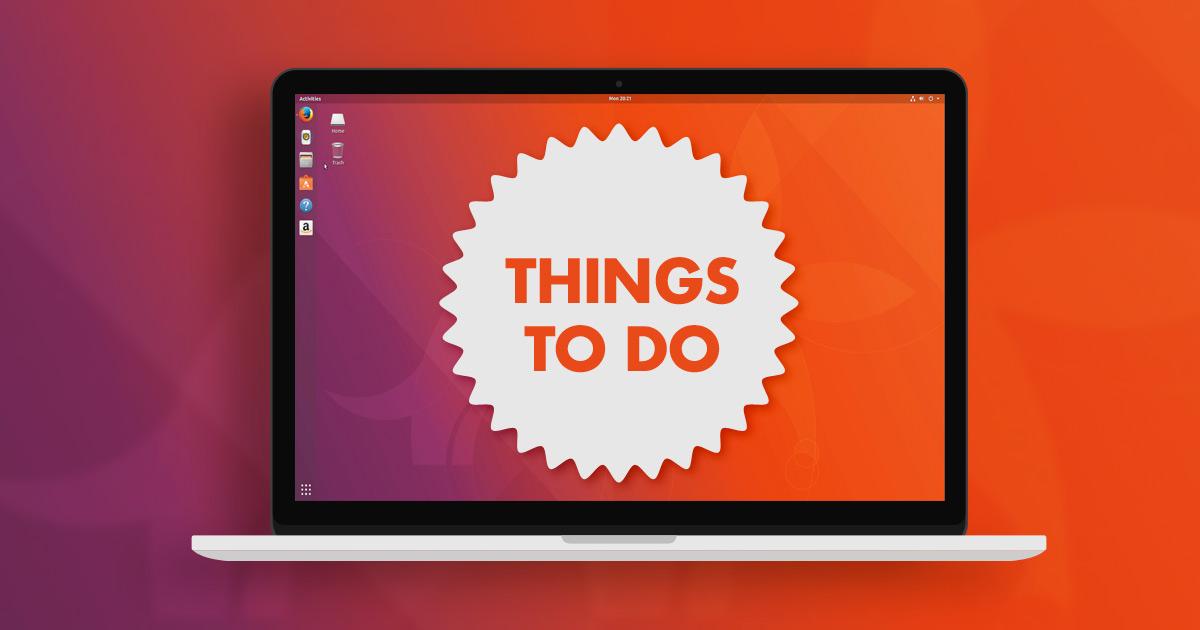 Ubuntu 17.20 - Magazine cover