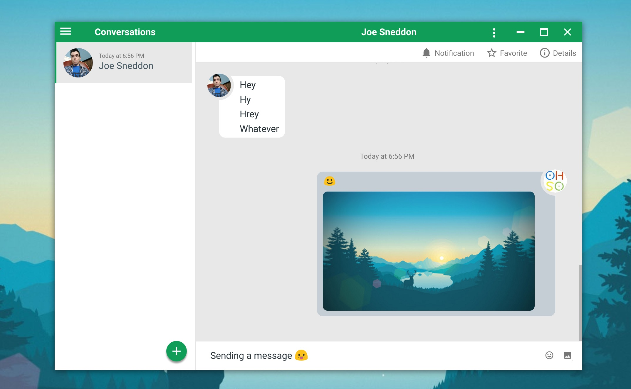 YakYak is an Open Source Google Hangouts Desktop App - OMG! Ubuntu!