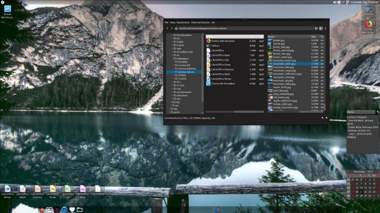 lumina 1.4.0 screenshot