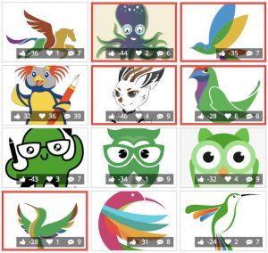 libreoffice mascot shortlist
