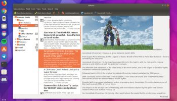 liferea feed reader app on ubuntu