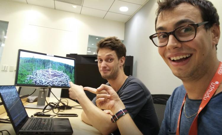 an ubuntu developer and a gnome developer working together