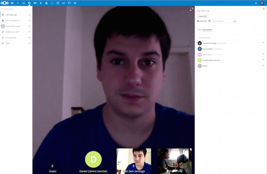 Nextcloud Talk is an Open Source Alternative to Google