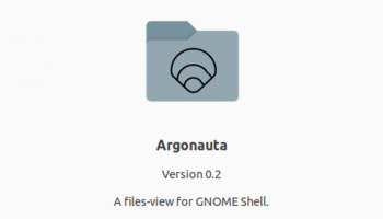 argonauta - a files view extension for GNOME Shell