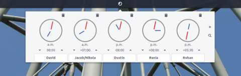 budgie world clock panel applet