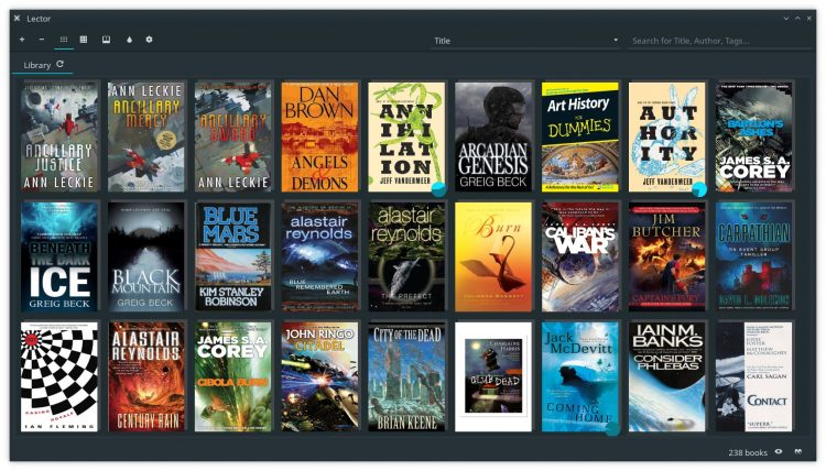 lector ebook app for linux desktops