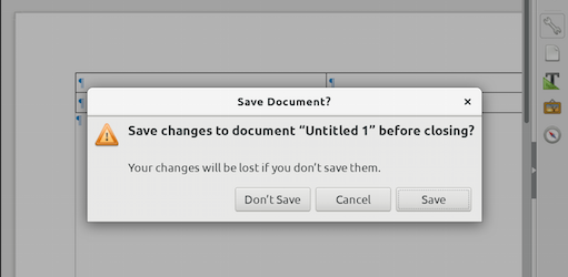 libreoffice dialog -- old