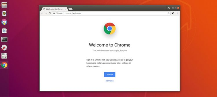 google chrome start page for new installs